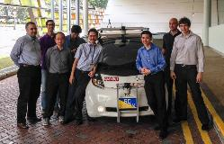 Driverless electric cars to take you around?